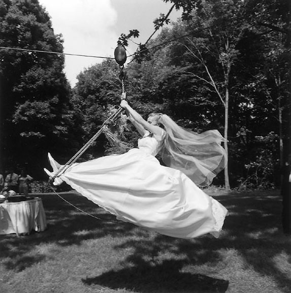 Zipline Bride Intro Art Illman News Wedding And Bar