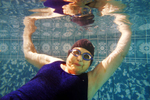 <p>Loretta Fleming of Merrimack, N.H. gave up swimming as a teenager but began competing again last summer. After three gold medal wins in the Granite State Senior Games, she is preparing for nationals next summer in the 75 to 79-year-old category.