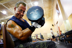 "<p>When Bruce Wasson, 63, attends a body building competition, you could say he's alone at the top. That's because he's almost always the oldest to enter his division. And because there are usually no competitors in his age category, he has to bump down a class.</p><p></p><p>For the past nine years, he's been lifting and winning against considerably younger entrants.</p><p></p><p>""It's like a piece of candy, I couldn't stop doing them,"" Wasson said. Five years ago he came in first place at a competition in Manchester and has placed multiple times along the way. ""At my age, everybody should have a hobby,"" Wasson said. ""Some go golfing, some go fishing. Me? It was coming to the gym.""</p>"