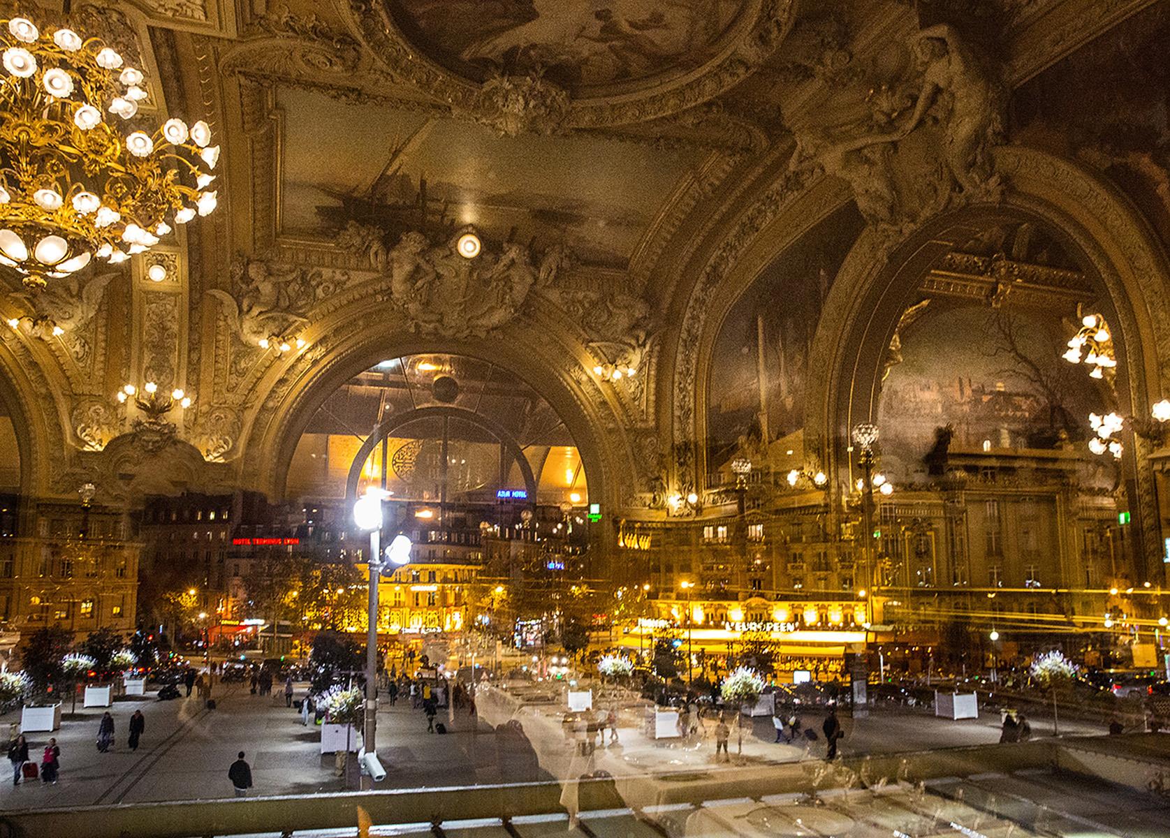 Le Train Bleu Reflections  Gare de Lyon  Paris