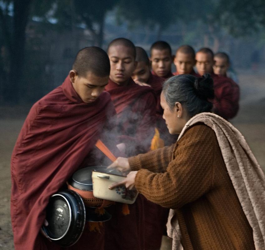 Mandalay Alms