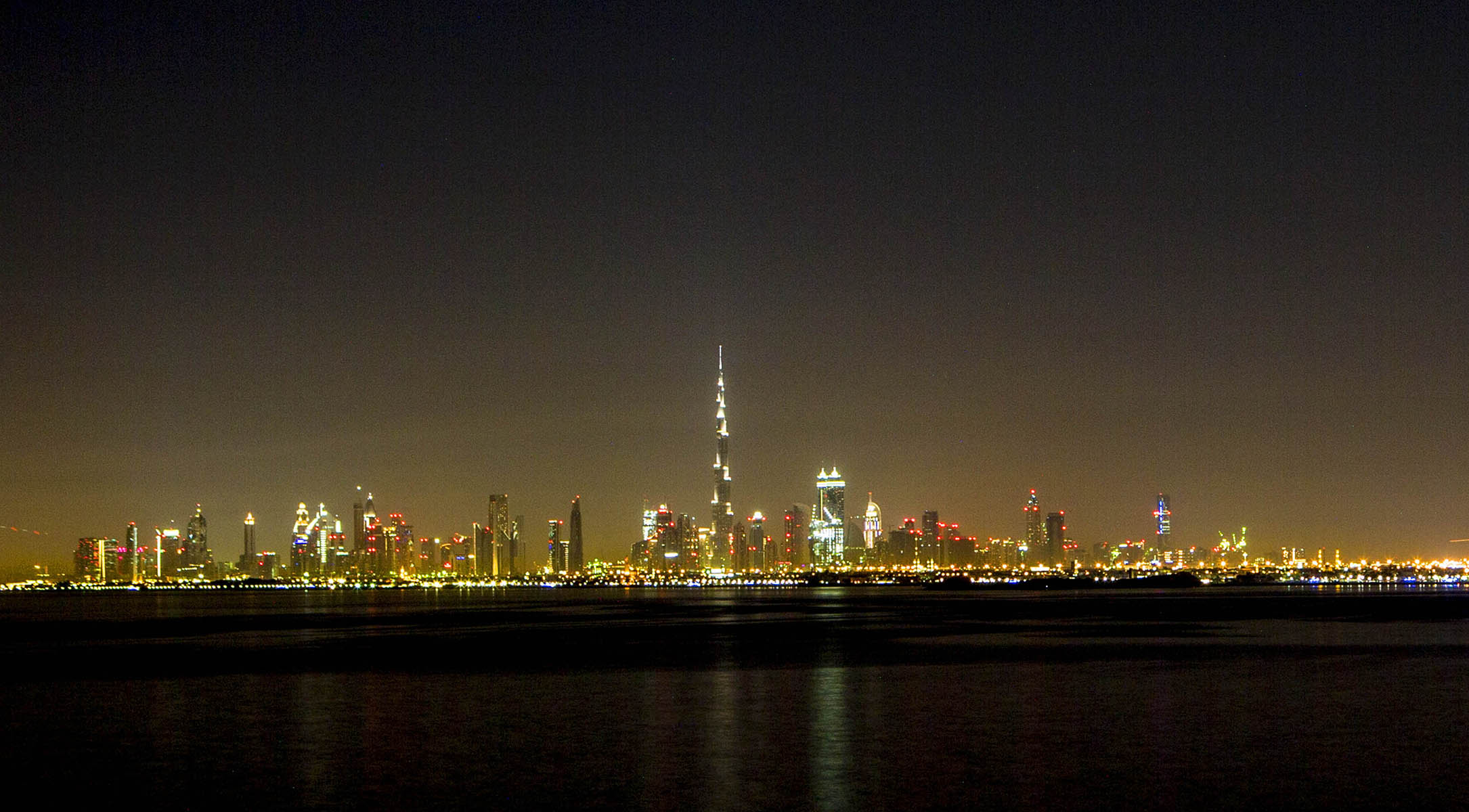 Dubai at Midnight