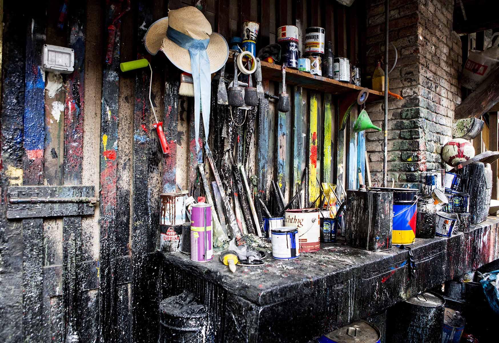 Gondola Paint Shop  Venice