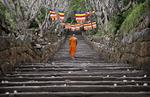 Head Monk   Mihintale Temple