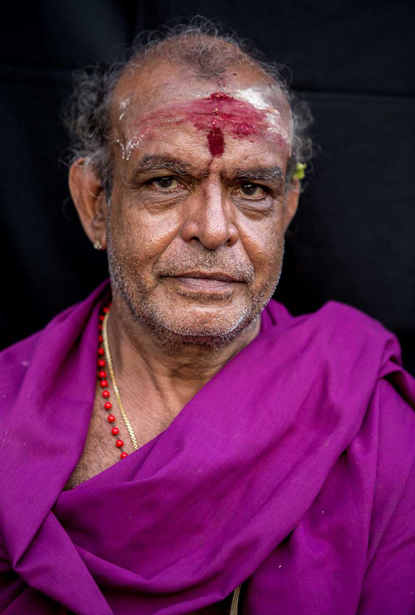 Hindu Priest   Near Trincomalee