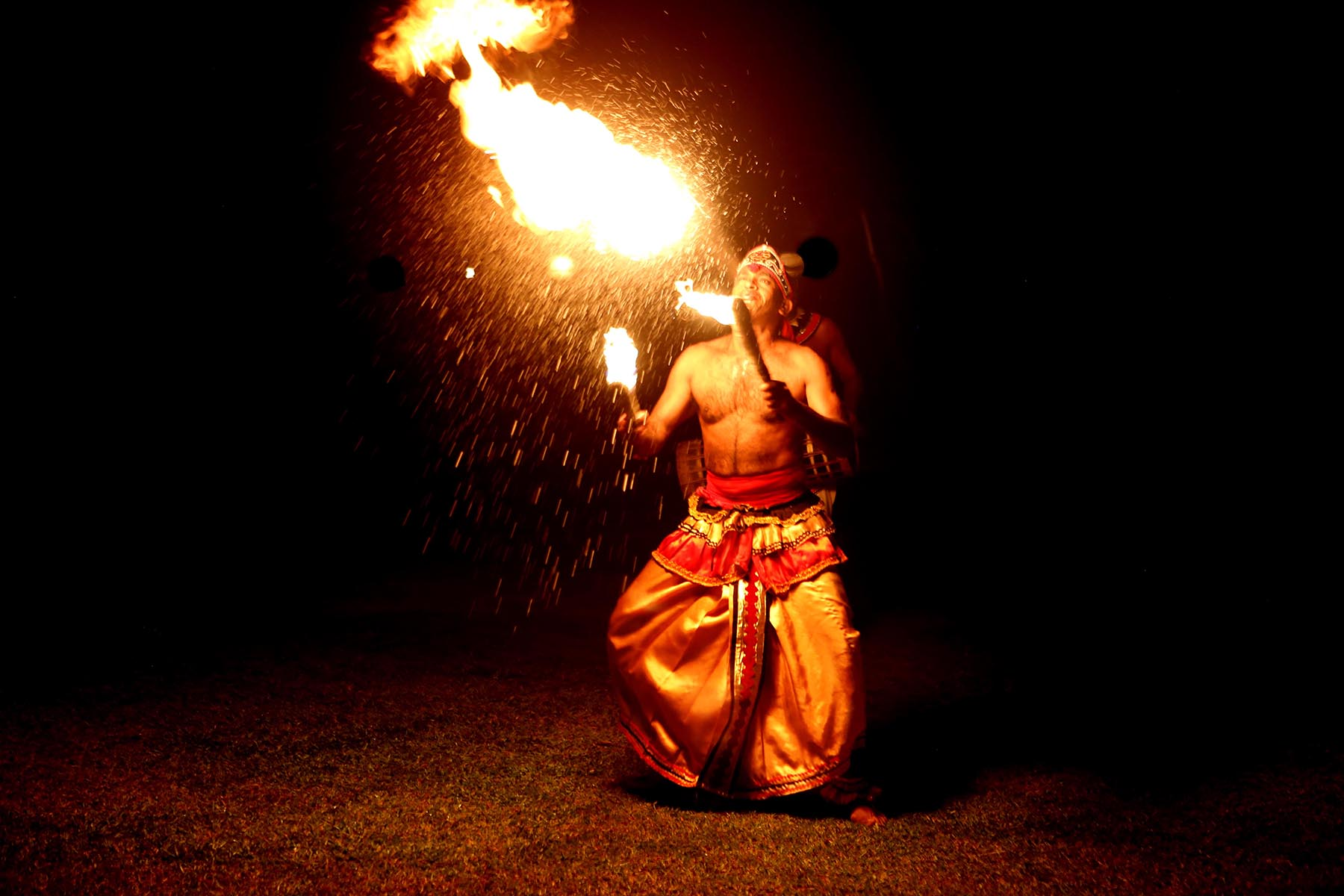 Fire Dance  Kandy