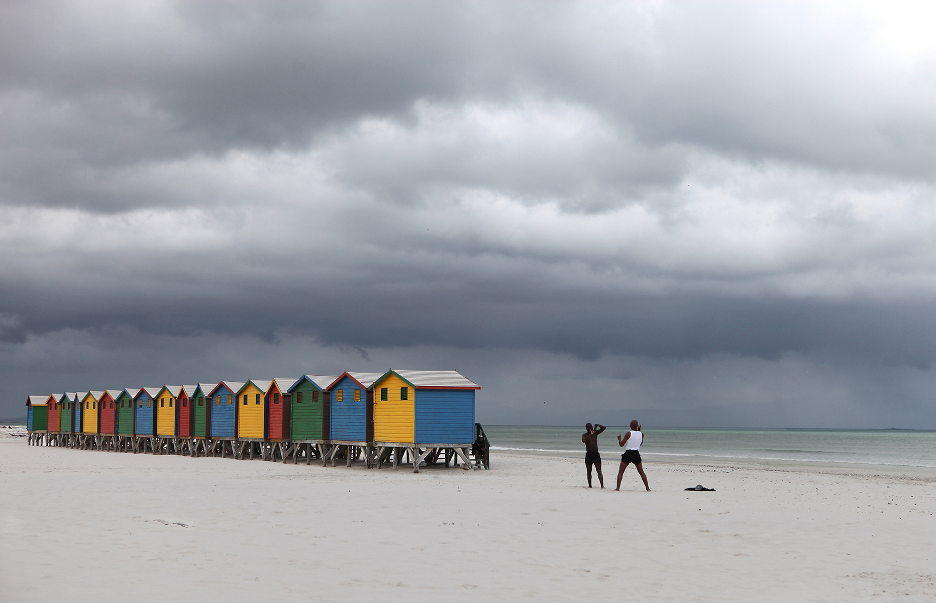 Muizenberg Beach  South Africa