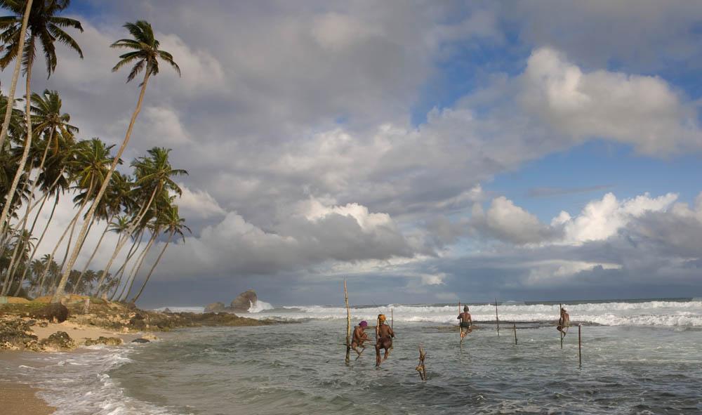 Weligama Stilt Fishermen