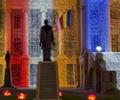 Lights of Vesak at Old Parliment