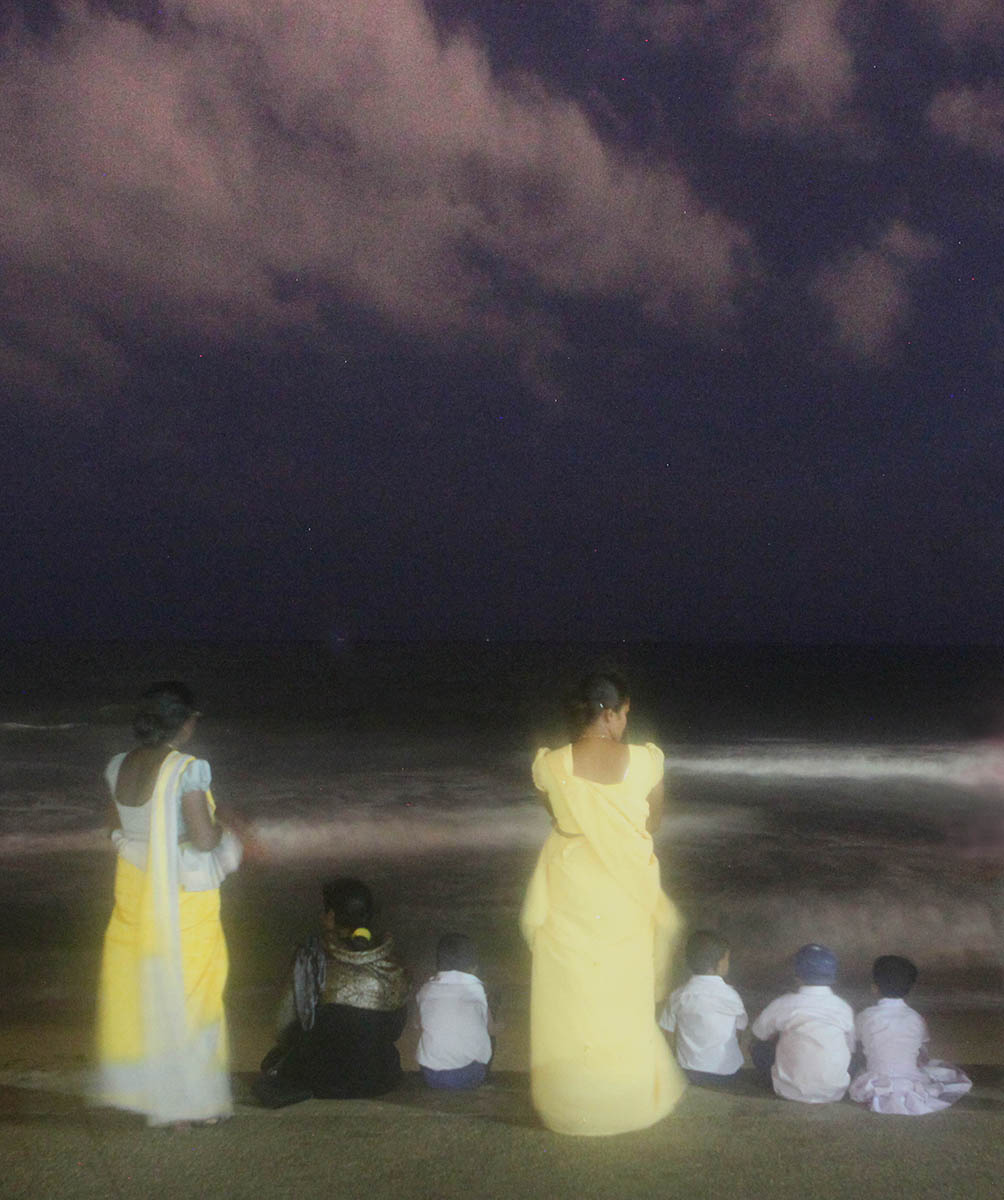 Evening on Galle Face Green