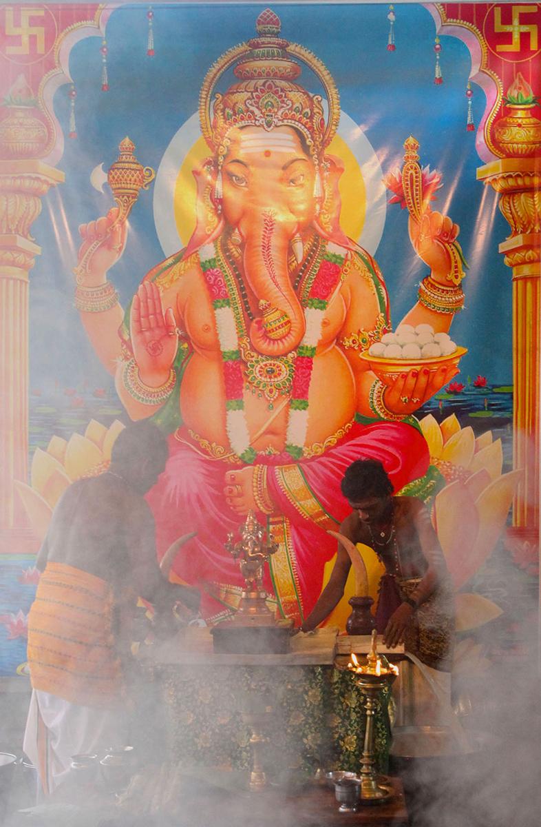 Hindu Temple   Palali, Sri Lanka