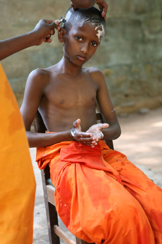 Shaving Ritual  Mihintale