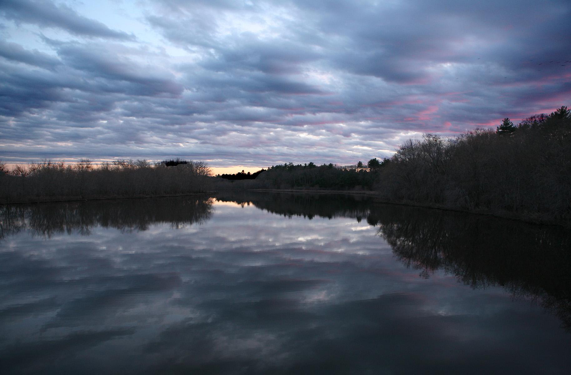 Sudbury River at Dusk