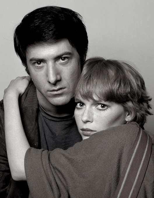 Dustin Hoffman & Mia Farrow, New York, 1964