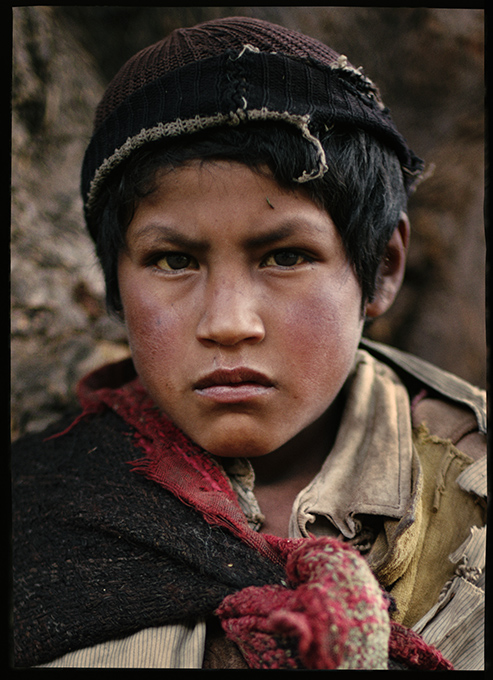 Cusco Boy, Peru, 1967