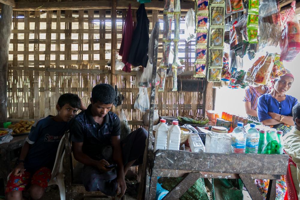 Rohingya Refugee camp, Burma © Graham Crouch