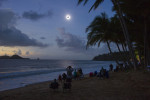 © BRIAN CASSEY - 14.11.2012 - The moment of totality during a total solar eclipse at Ellis Beach Australia.
