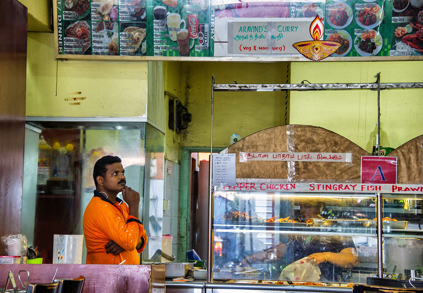 Aravinds Little India Singapore  © Brian Cassey