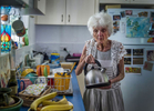 Margaret Puts the Kettle On - Margaret Thorsborne© Brian Cassey