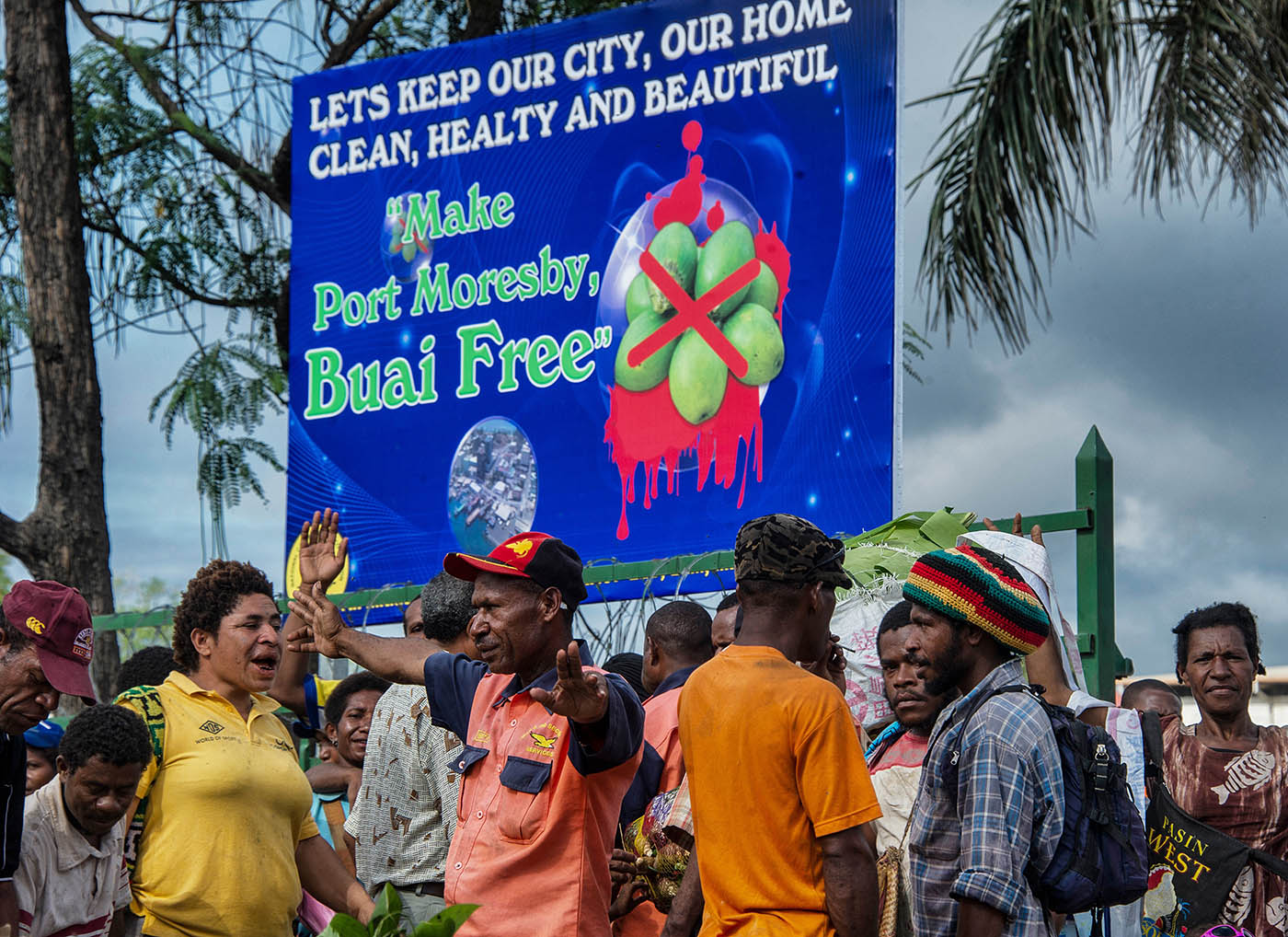 Betel nut selling is already banned at Gordon's market, Port Moresby,  © Brian Cassey