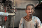 Retired coolie Tai Lun Po, 79  © Brian Cassey