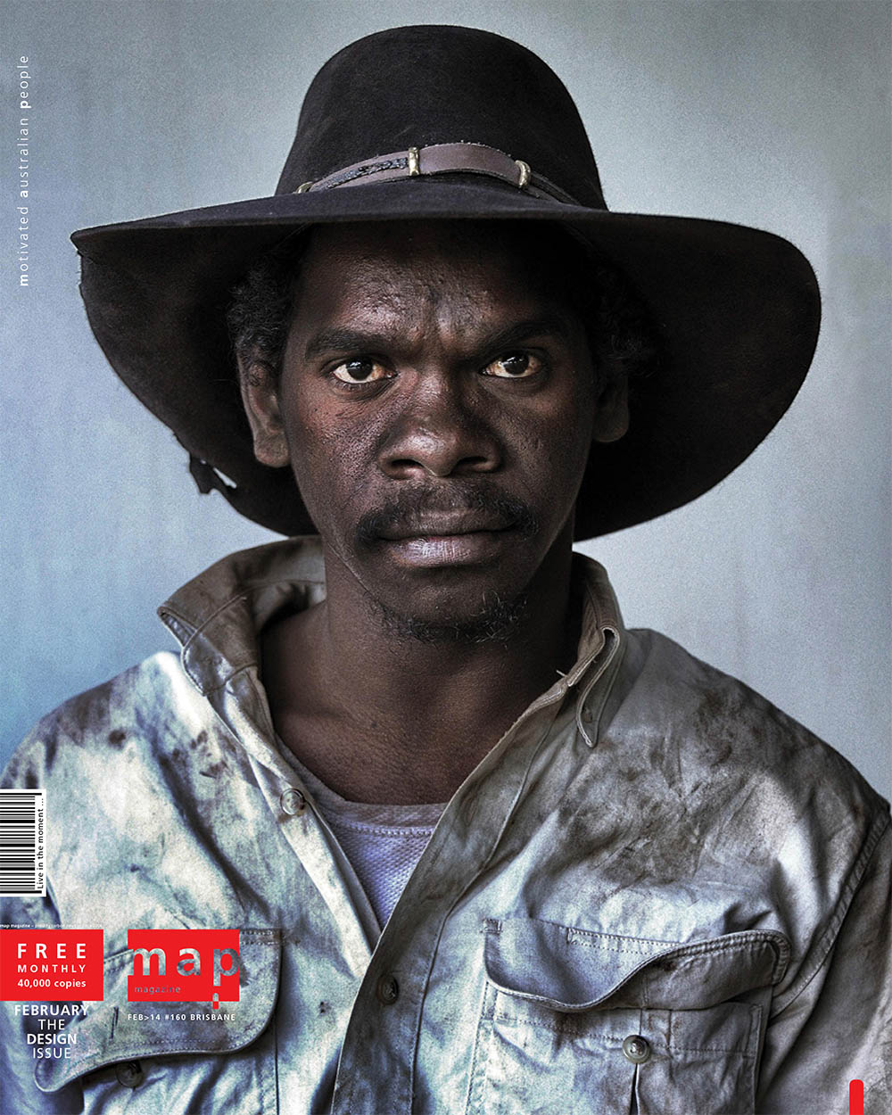 MAP Magazine Cover  (Motivated Australian People)  -  Feb 2014