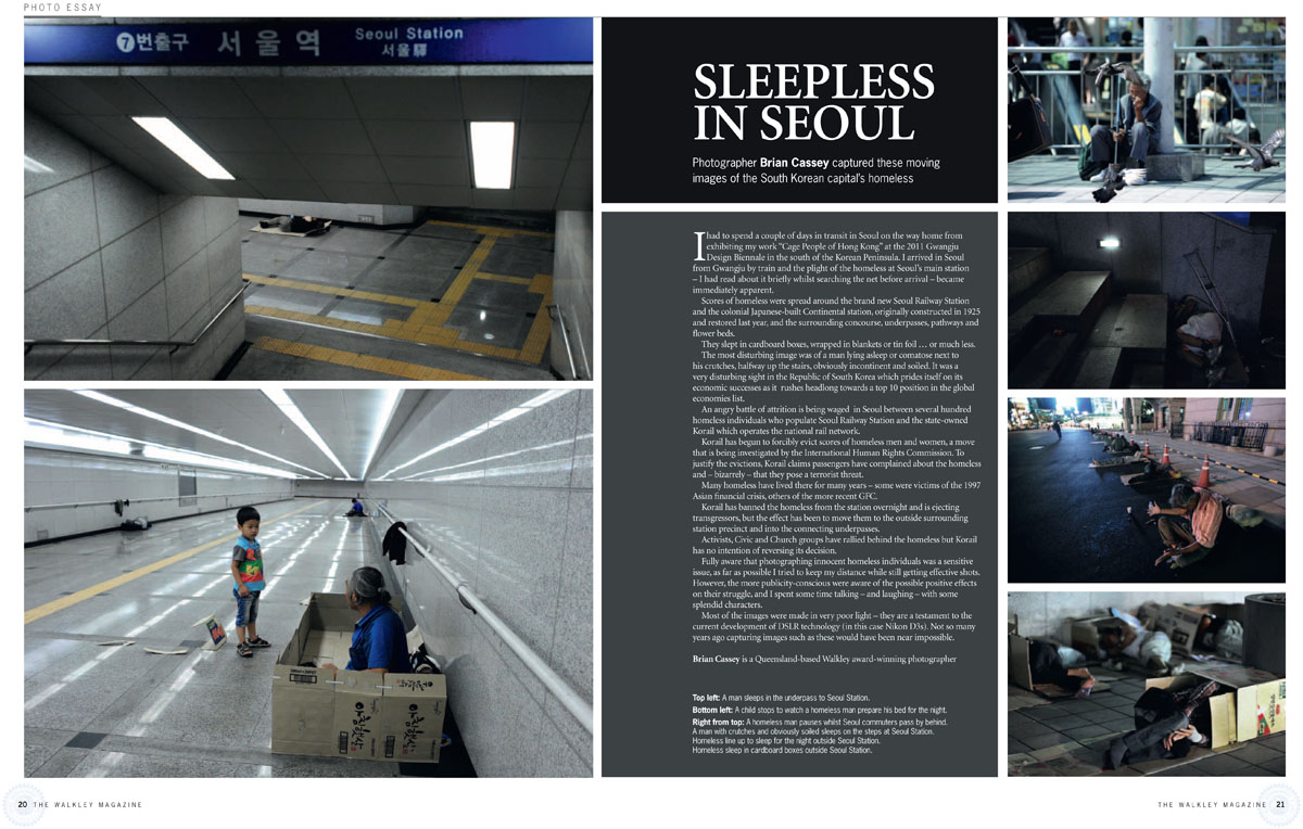 The Walkley Magazine - {quote}Sleepless in Seoul{quote} © Brian Cassey