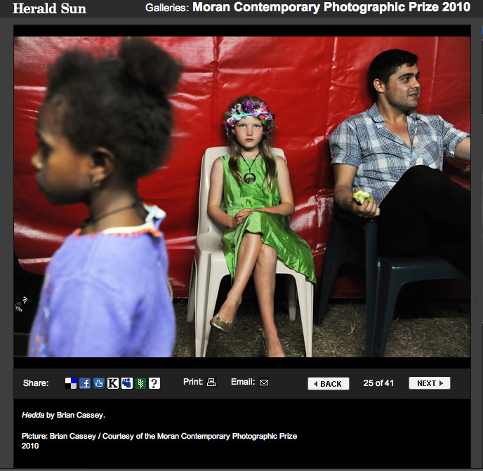 Moran Contemporary Photographic Prize 2010 - Finalist