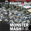The Courier Mail wraparound cover 04/02/2011
