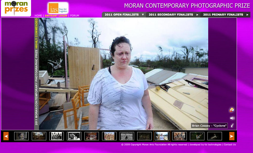 Runner Up - Moran Contemporary Photographic Prize 2011