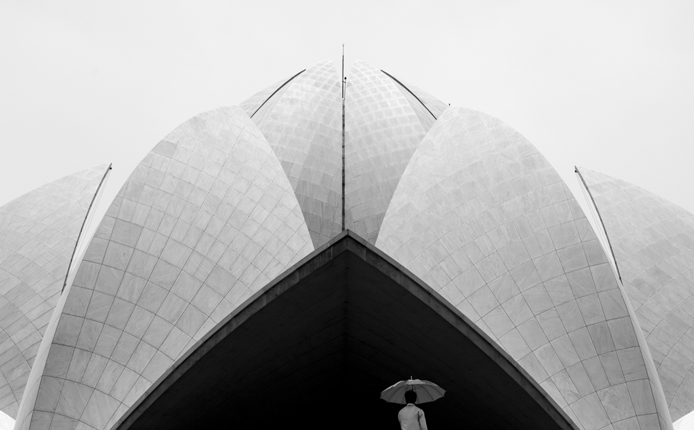 Lotus Temple, New Delhi. © Graham Crouch