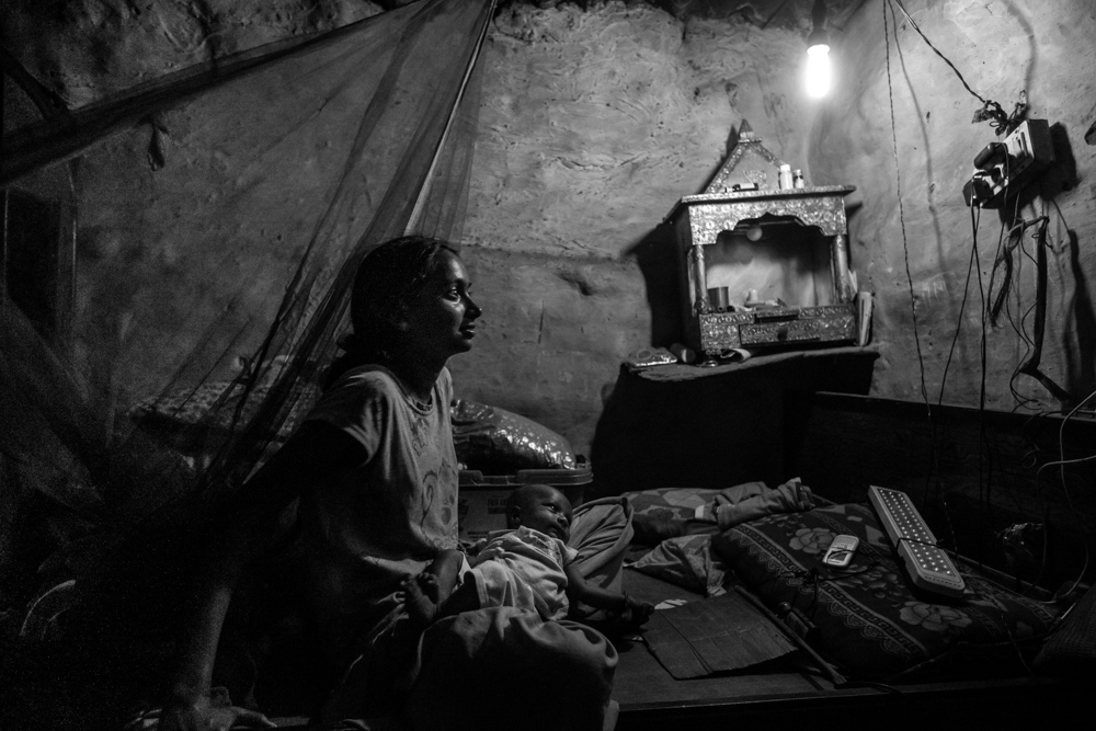Powerless, Delhi -  © Graham Crouch