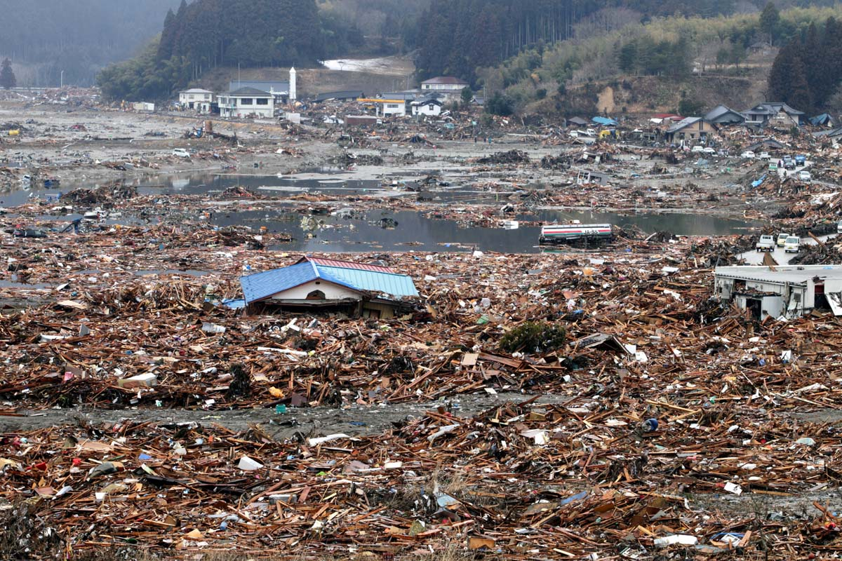 kb 28 earthquake and tsunami 2011 kelly barnes the destruction in the city of rikuzentakata the east coast of was