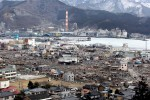 Northern Coastal town of Ofunato were destroyed after a 9.0 earthquake caused a tsunami which hit the eastern coast of Japan on the 11th March, 2011.
