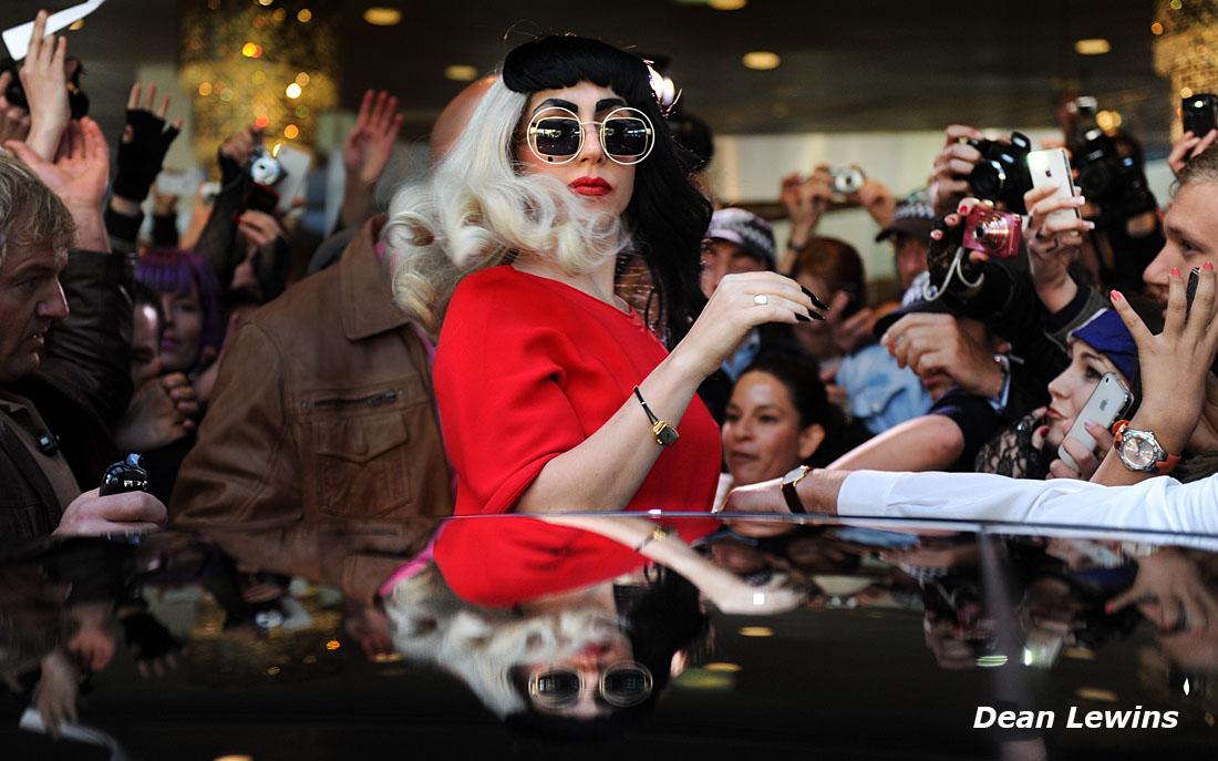 Lady Gaga, Sydney, AustraliaDean Lewins/AAPImage 2011