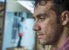 Afghan rerfugee Riaz Samadi works volutarily in the Manus community after release from detention. He has been threatened with death by a Manus father following a relationship with a local girl. © Brian Cassey