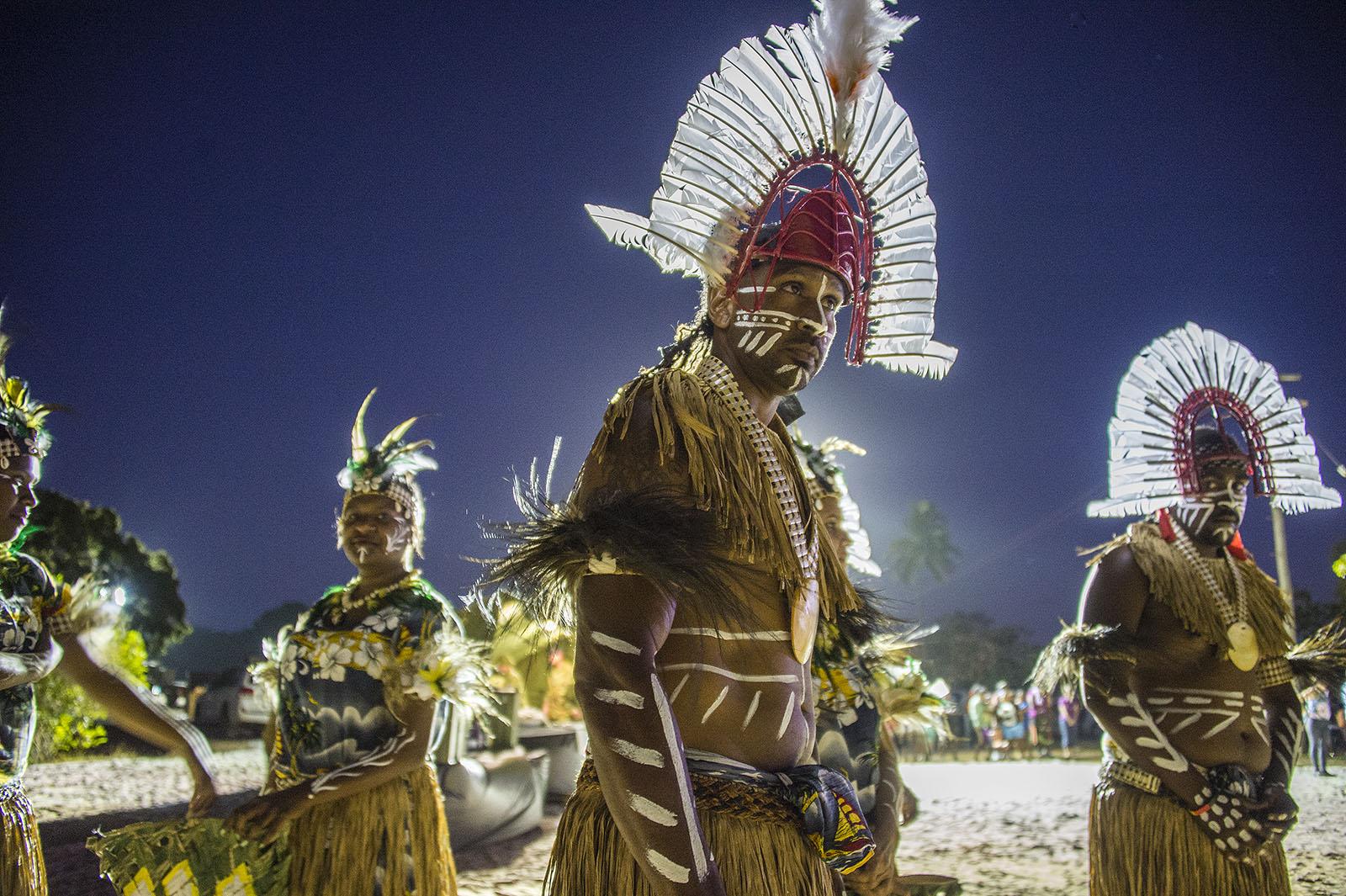 Torres Strait Dancers - Bamaga  © Brian Cassey