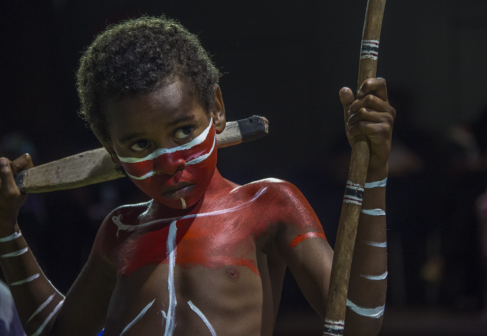 Torres Strait Dancer - Thursday Island  © Brian Cassey