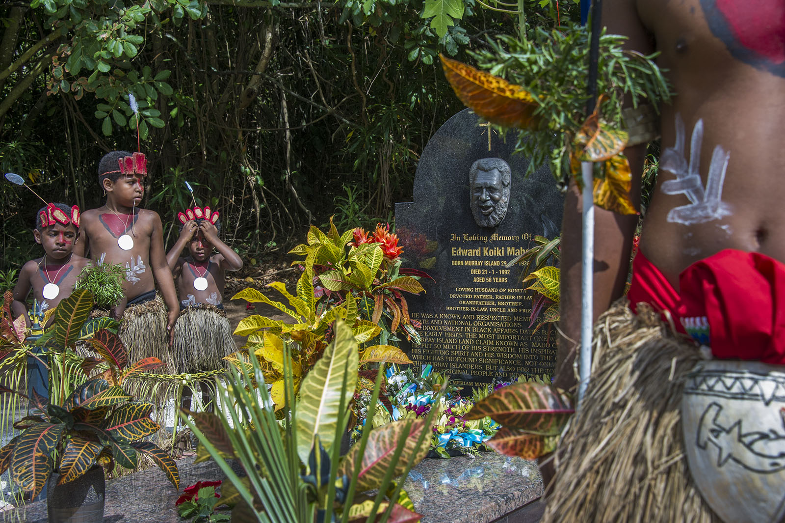 Mabo Grave - Mer Island  © Brian Cassey