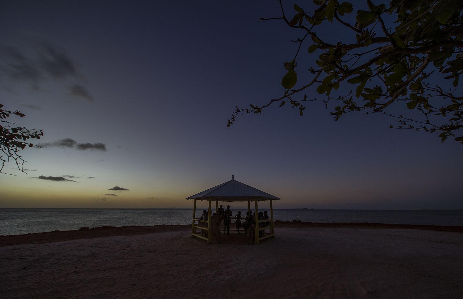 Dancers at dusk - Injinoo  © Brian Cassey