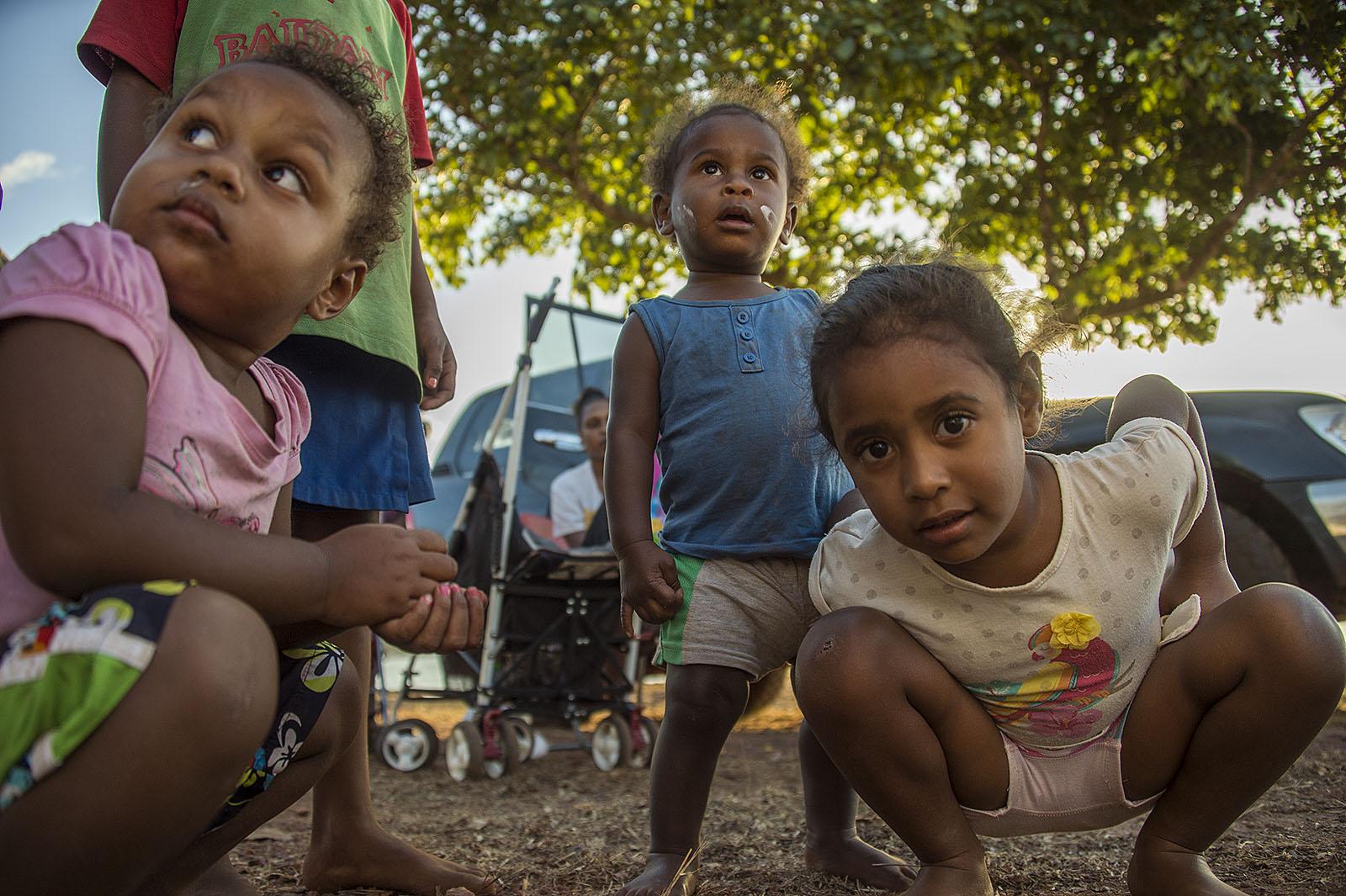 Indigenous Children - Bamaga  © Brian Cassey