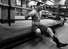 Australian IBO champion Danny Green starts a late afternoon training session in a Marrickville Gym, preparing for the fight, less than six weeks away.All pictures © Sam Mooy/NEWS LIMITED 2010