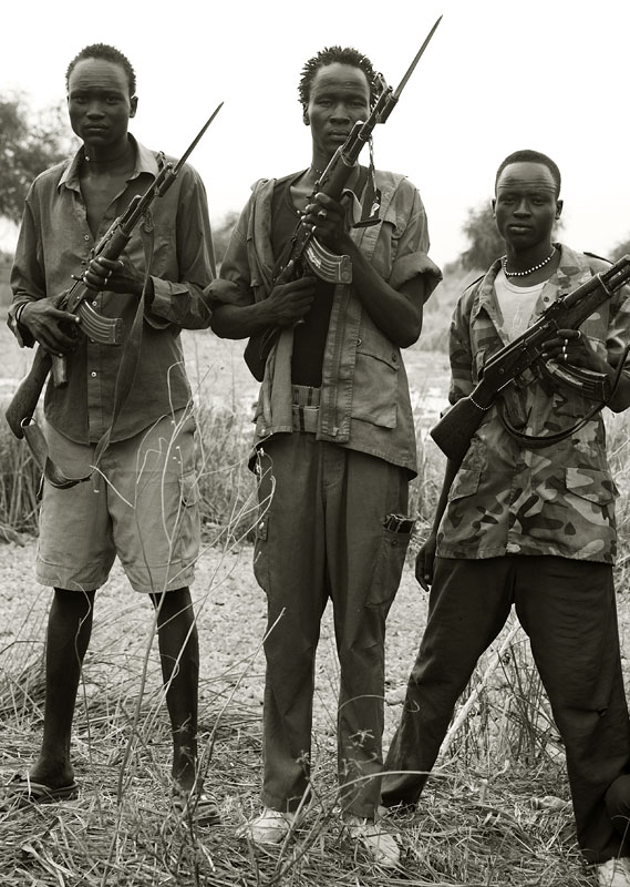 Members on the Nuer 'White Army'.