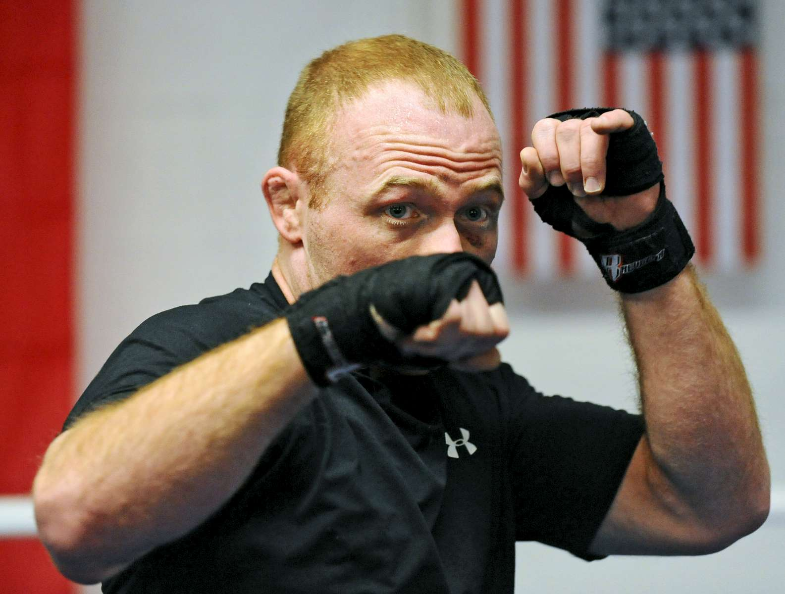 Worcester firefighter Evan Parker moonlights as a Mixed Martial Arts fighter.