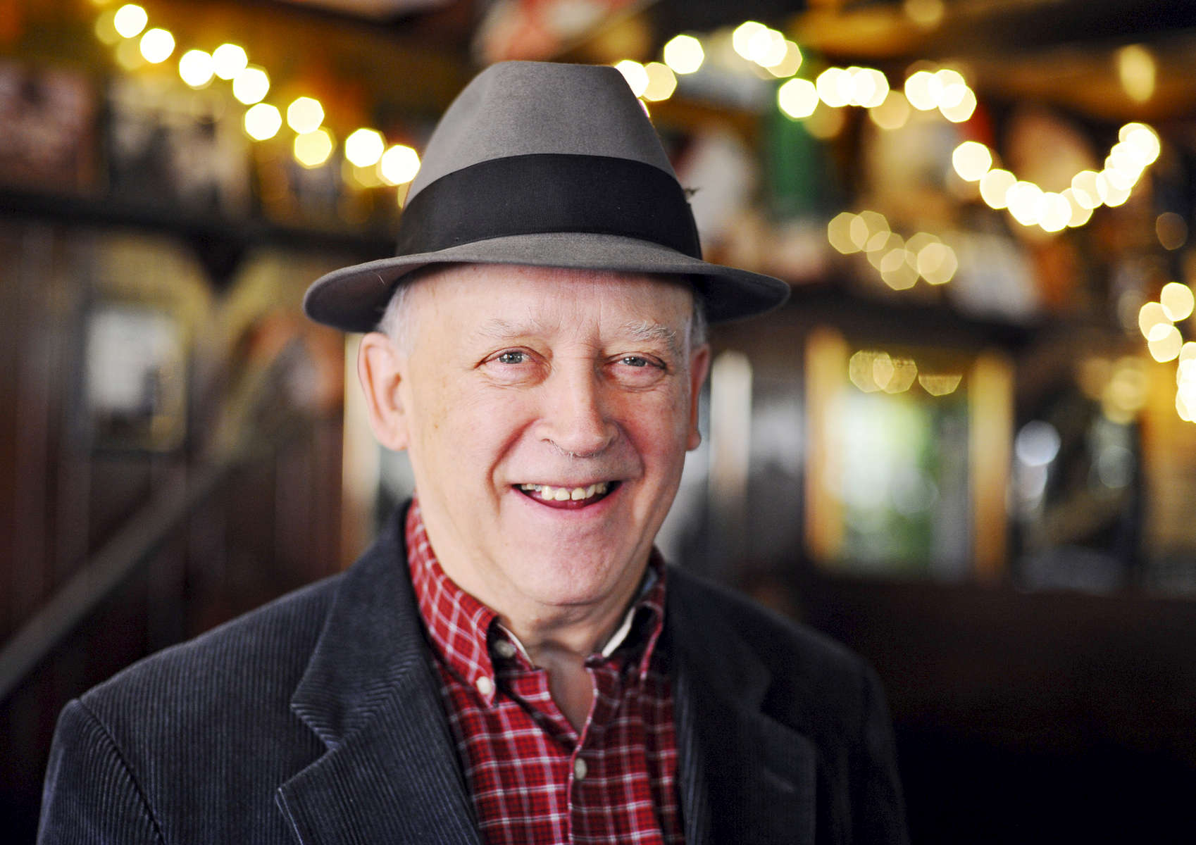 Former selectman Harold Vanasse at The Old Timer on Tuesday, Jan. 26, 2016. Vanasse said that it was a popular place to meet after meetings.  T&G Staff/Christine Hochkeppel