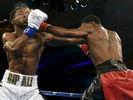 Worcester's Khiary Gray, 23, right, fights Ian Green, 22, of Patterson, N.J. in a super welterweight bout at Foxwoods Resort Casino in Mashantucket, Conn. on Friday, July 22, 2016.