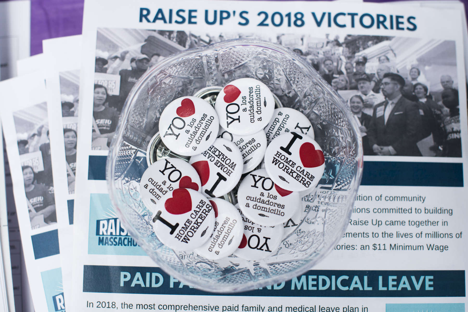 1199 SEIU Healthcare Workers Rising Victory Cookout in Worcester at Crompton Park, Saturday, July 14, 2018.