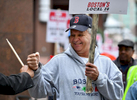 BOSTON -- 100418 -- UNITE HERE Local 26 union workers on strike, Thursday, October 4, 2018. Christine Hochkeppel for the Provincetown Business Guild