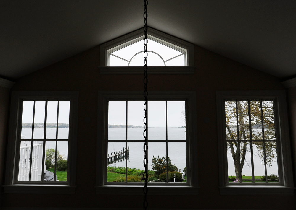 OSTERVILLE -- 051711 -- The view of West Bay from Carolyn and Andrew Lane's home on South Bay Road.  Cape Cod Times/Christine Hochkeppel 051711ch09