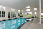 OSTERVILLE -- 051711 -- The pool in Carolyn and Andrew Lane's home on South Bay Road.  Cape Cod Times/Christine Hochkeppel 051711ch12